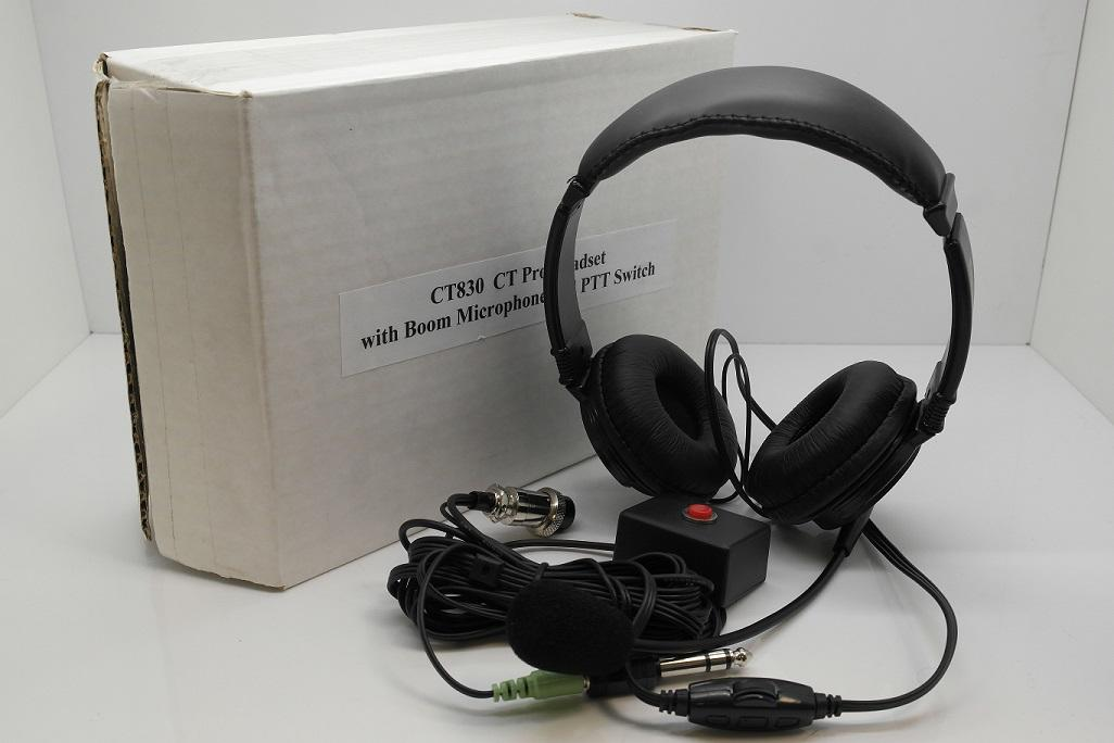 CT Pro Headset With Boom Microphone & PPT