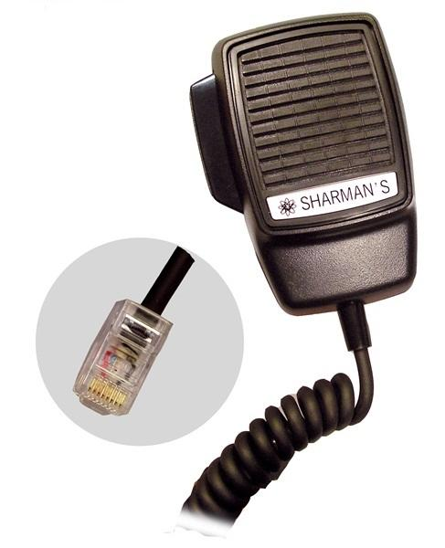 Sharmans DM-523 Dynamic Modular Plug Microphone For GM300 Radios