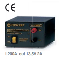 Microset L200A 2 Amp Small Linear Power Supply