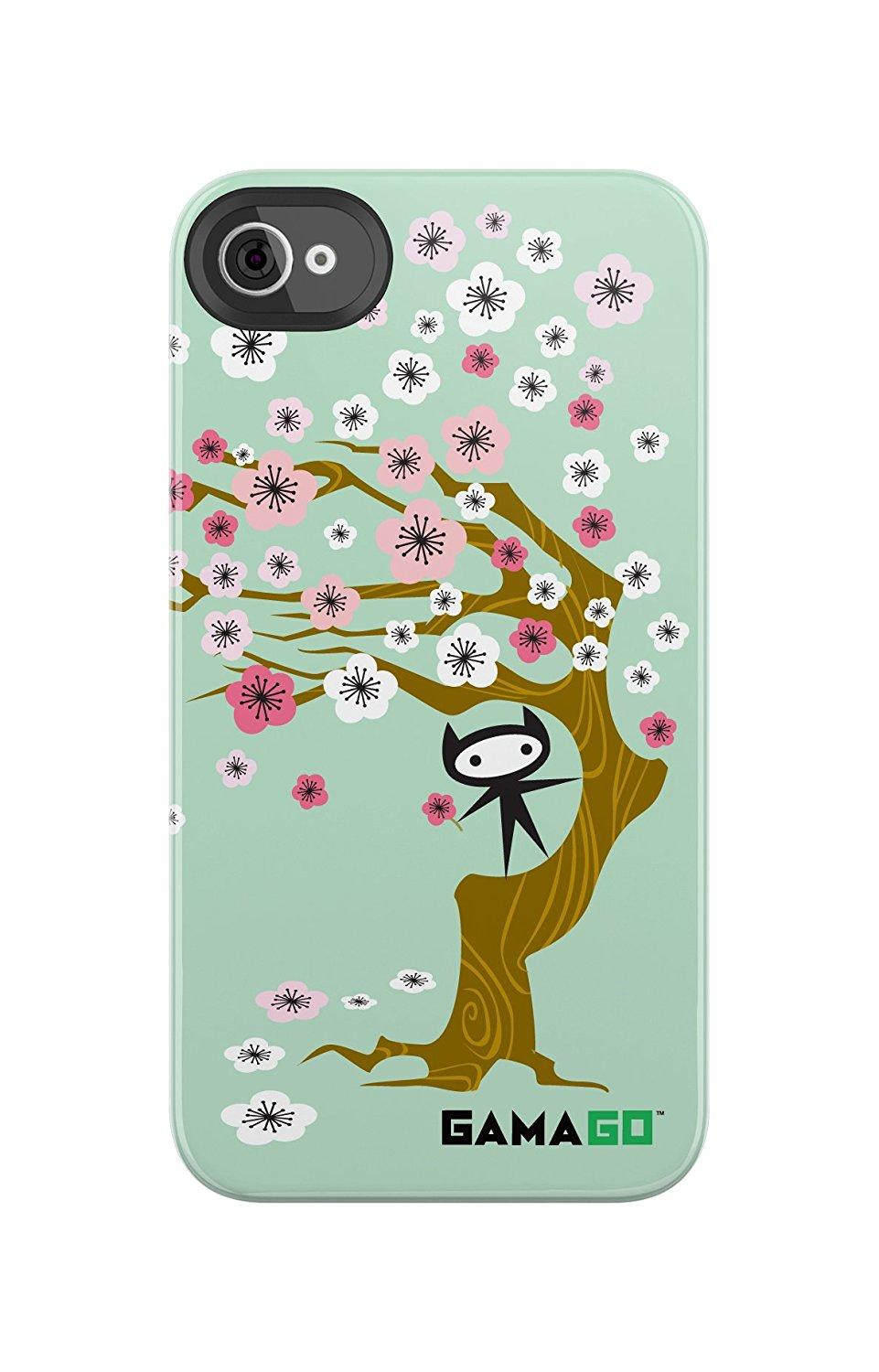 Uncommon Gama Go Blossoms Deflector Hard Case for iPhone 4/4S