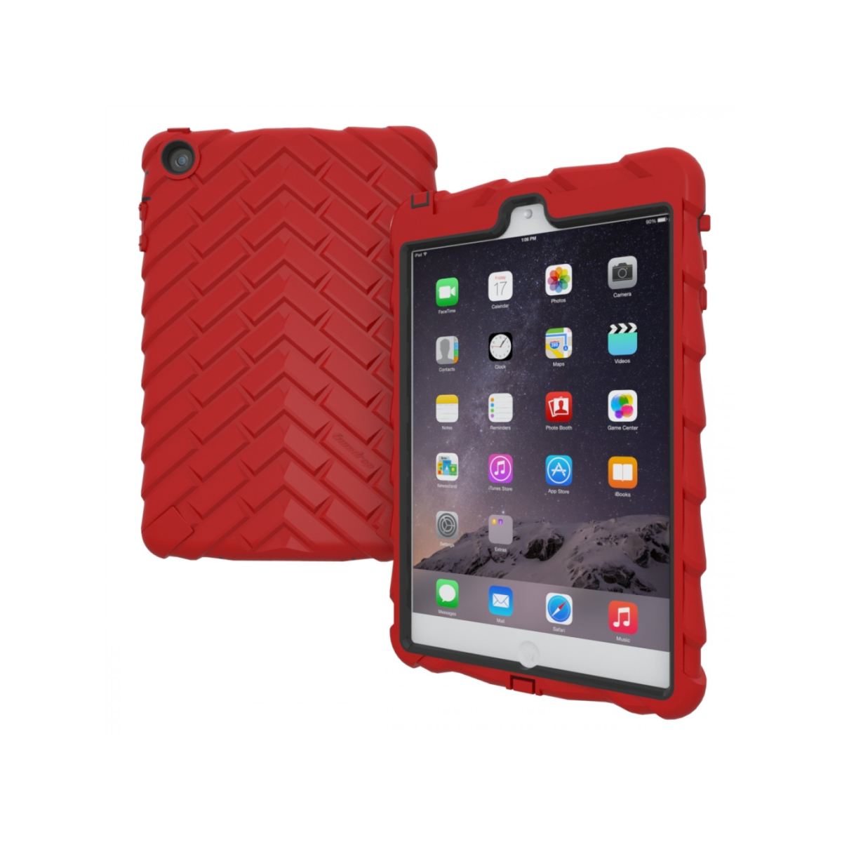 Gumdrop iPad Mini 3 Drop Tech Case in Red