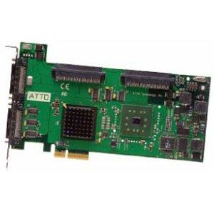 ATTO ExpressPCI UL5D SCSI Host Adapter (Dual Channel PCIe to Ult