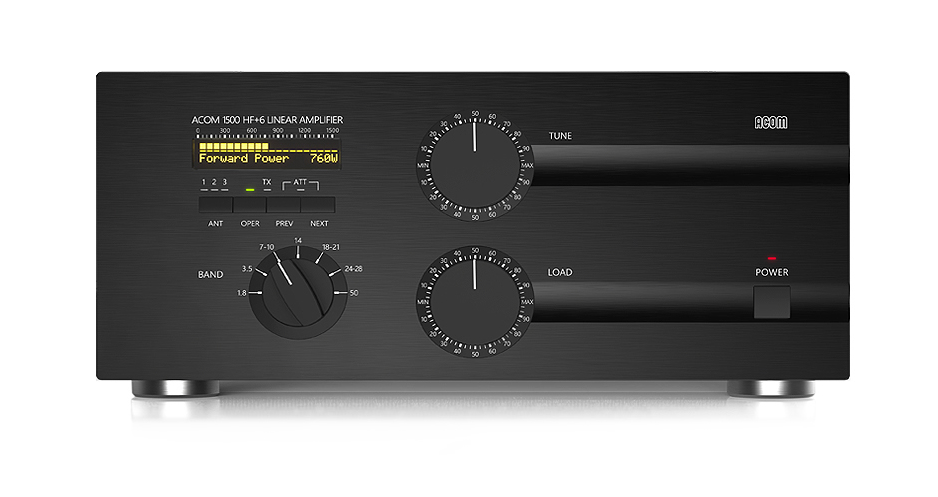 ACOM 1500 HF & 6m Linear Amplifier