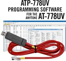 ATP-778 Programming Software and USB-A5R cable for the AnyTone A