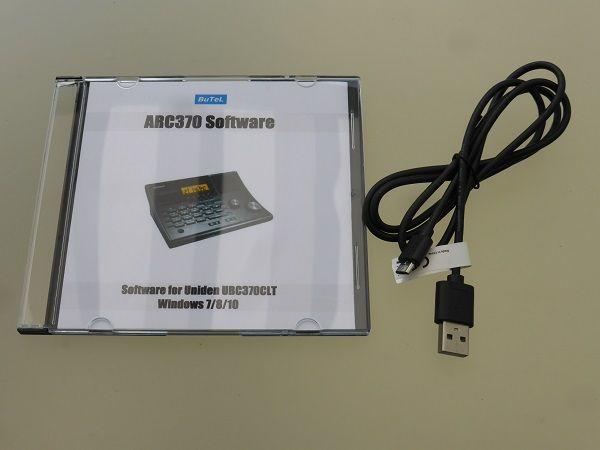 Software ARC370 + USB Cable for UBC370CLT