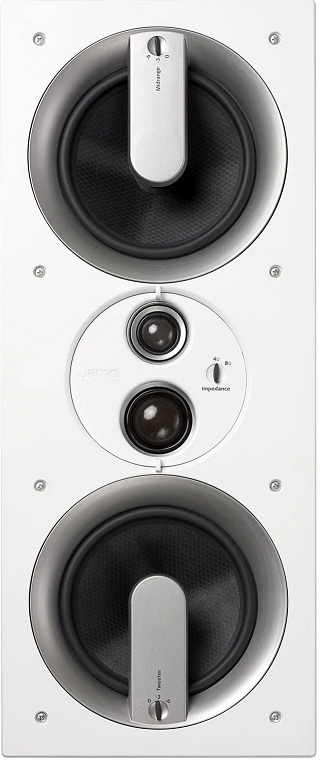Jamo IW 626 LCR FG In-Wall Speaker-White 1