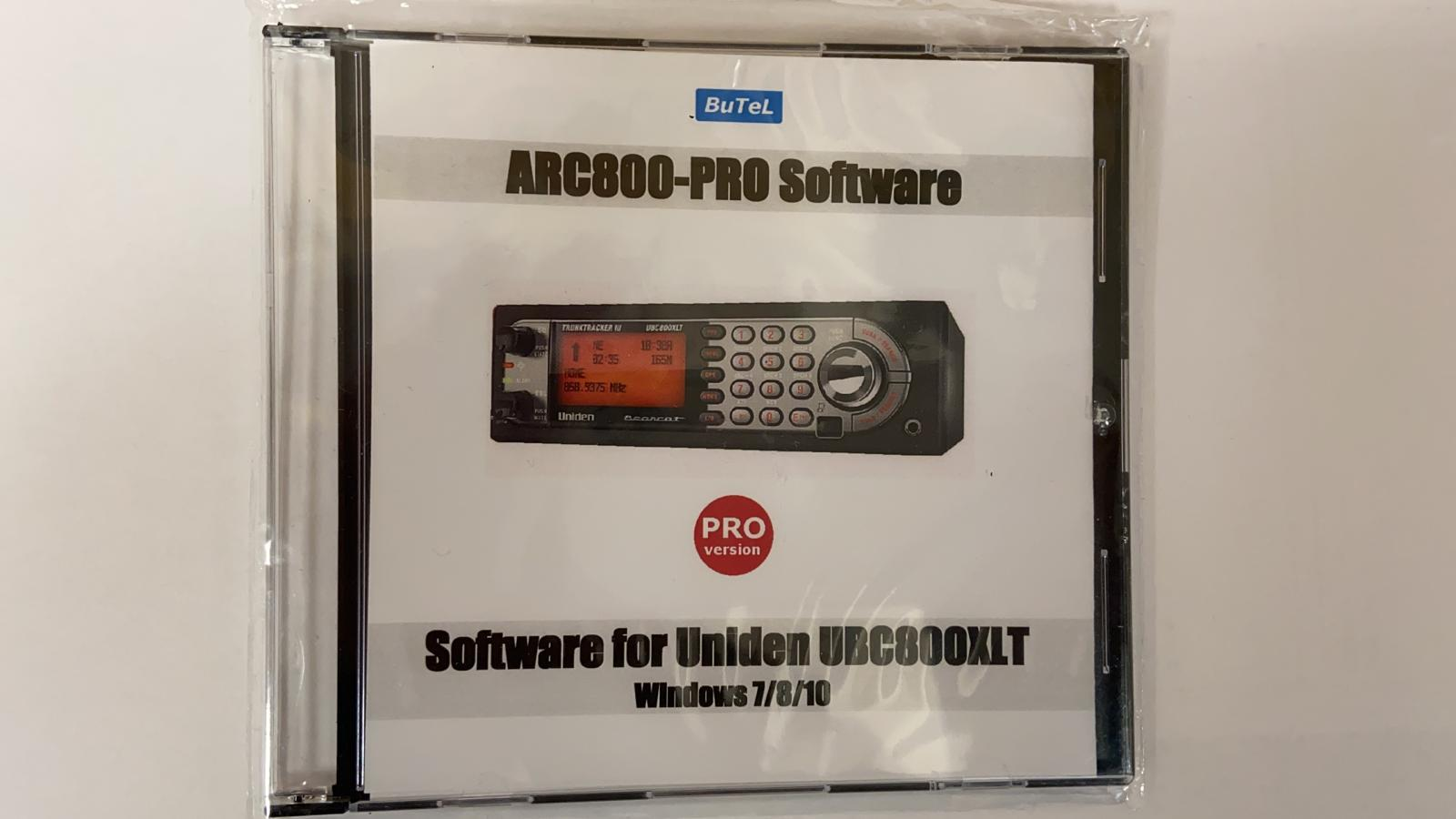 Butel ARC800 PRO software