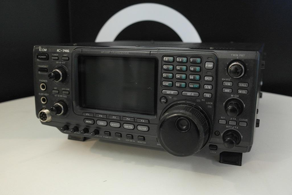 Second Hand Icom IC-746 HF VHF Transceiver 1