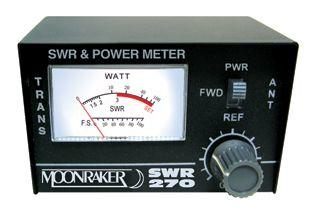 MOONRAKER SWR-270 - DUAL BAND SWR/POWER METER