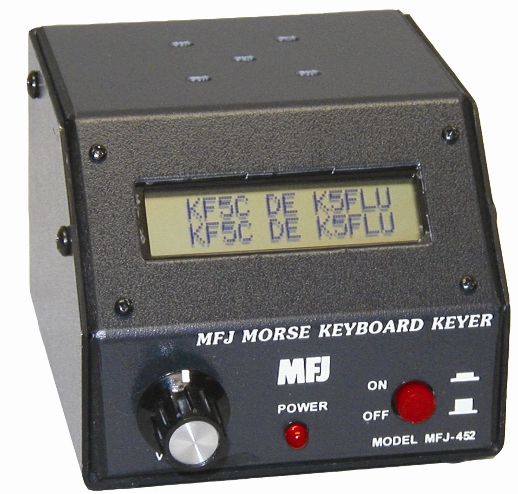 MFJ-452X CW Keyboard keyer with display and no keyboard