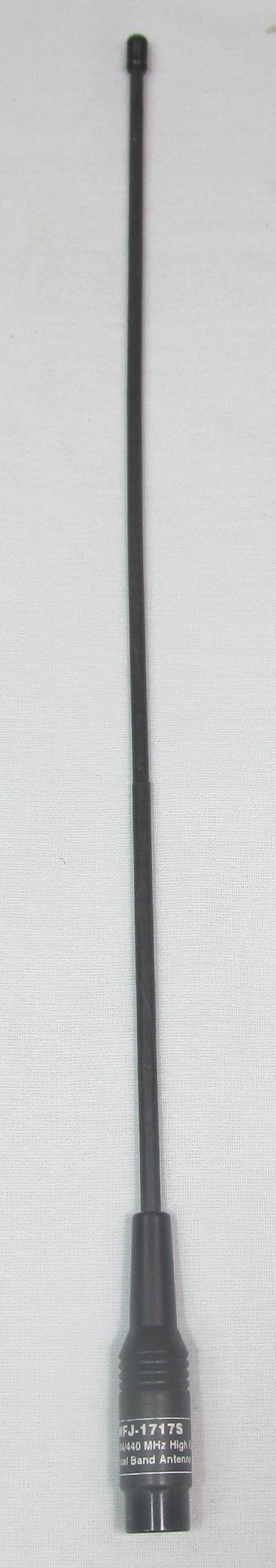 MFJ-1717S High Gain 144/440 MHz Flexible Duck HT Antenna w/ SMA