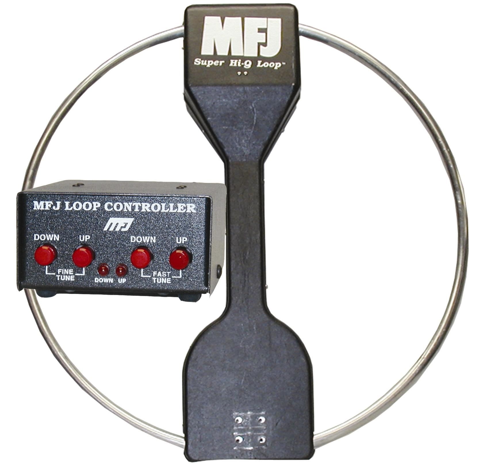 MFJ-1782X Magnetic Loop Antenna without SWR/PWR meter & Auto Ban