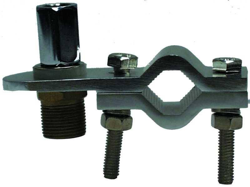 MFJ-344 3/8in Vertical Mount SO-239 socket for Coax feed
