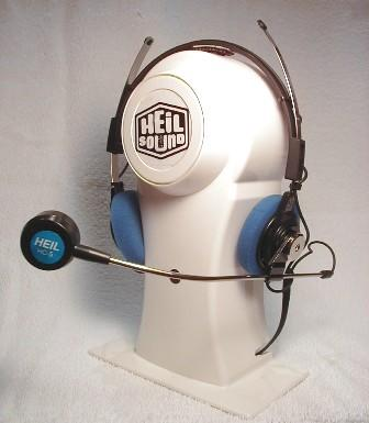 Heil BM-10-IC Heil Lightweight Dual Headsetboom Mic.