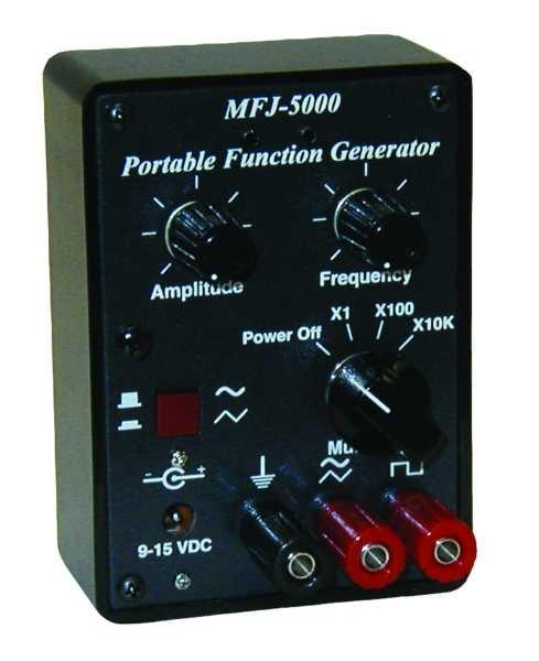 MFJ-5000 - Pocket-sized function generator