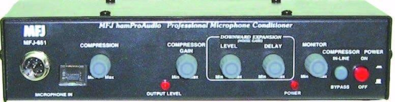MFJ-651 - hamProAudio Transmit Audio Conditioner