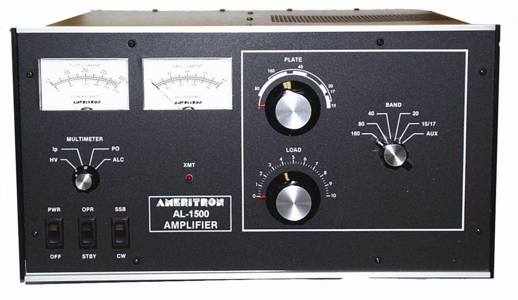 AL-1500XQCE Ameritron 1.5kW HF Linear Amplifier with QSK-5 insta