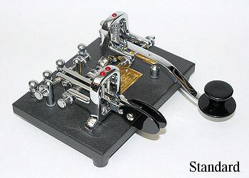 V-DKS-SK/I Vibroplex iambic Double Key Deluxe Iambic Paddle..