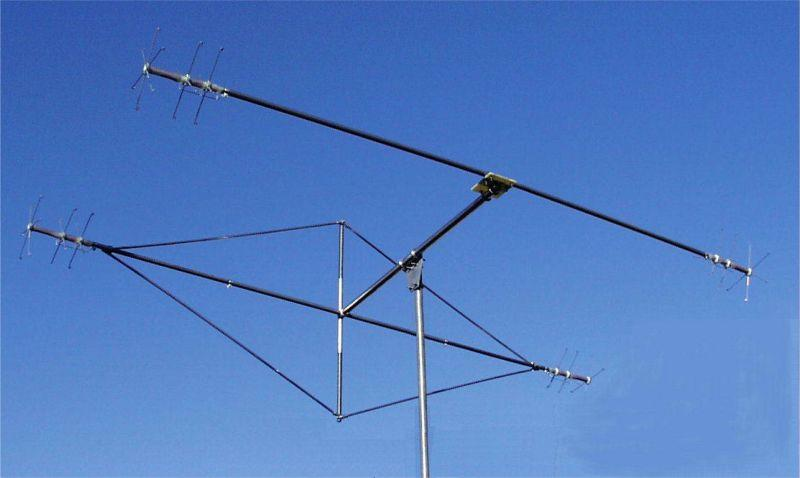 MQ-1 TGM 3-Band 2-element Hybrid Quad Antenna