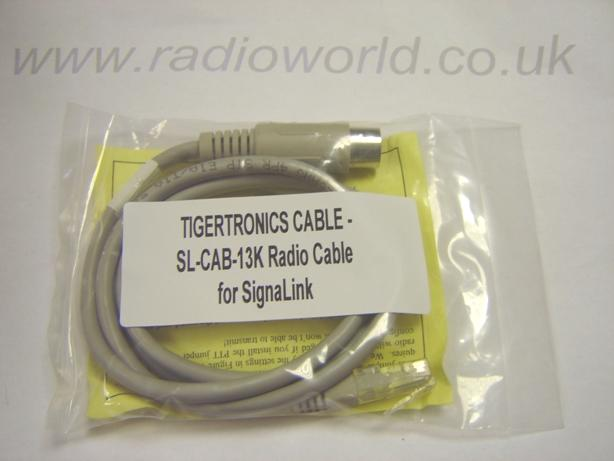 SL-CAB-13K Tigertronics Radio Cable for SignaLink