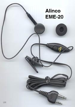 EME-20 Tie pin microphone with earphone