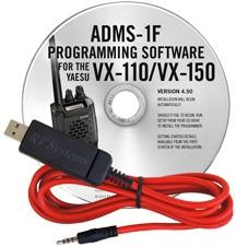Yaesu ADMS-1F Programming Software for VX-110/ VX-150