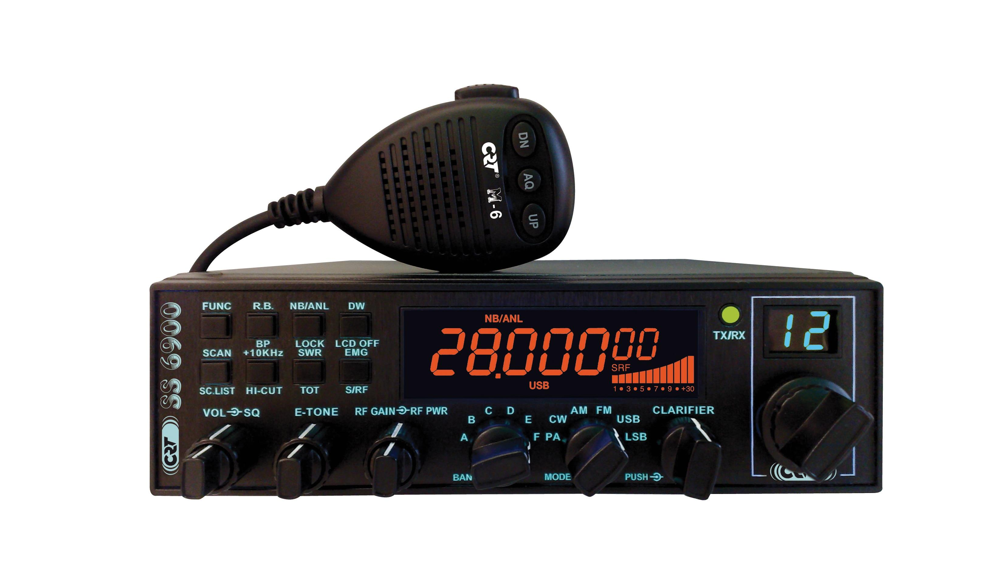 SUPERSTAR SS6900 10M BAND TRANSCEIVER