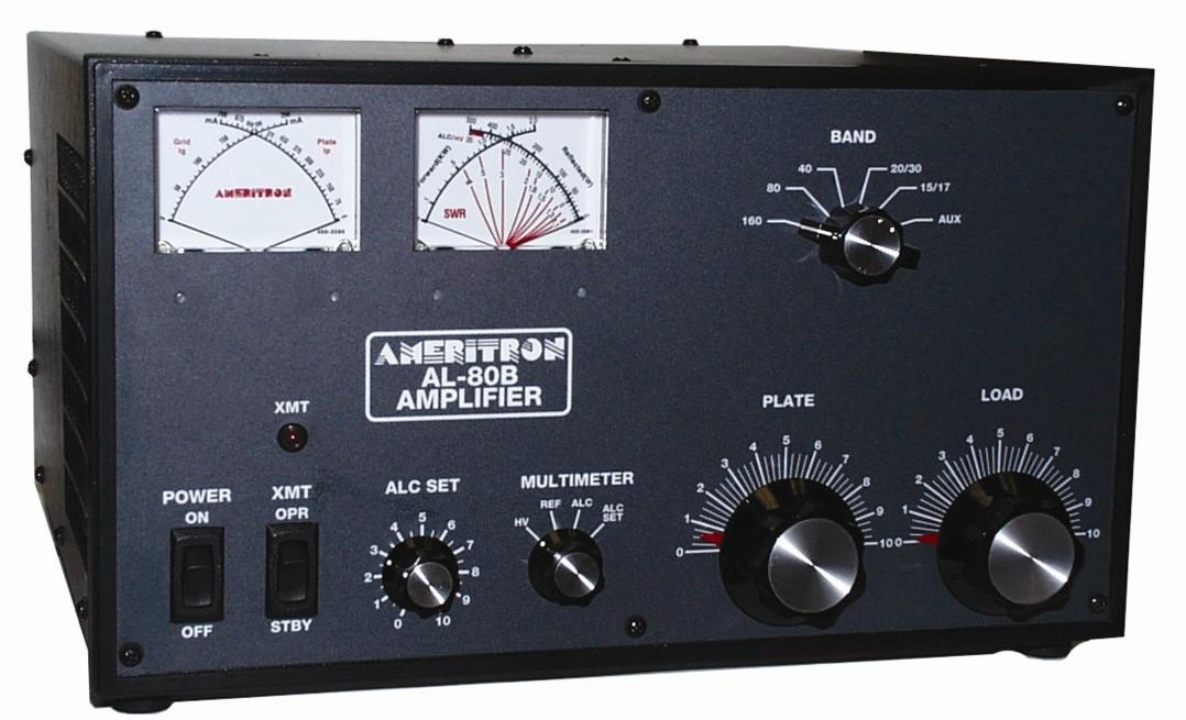 AL-80BXQCE Ameritron 1kW HF Linear Amplifier with QSK-5 installe