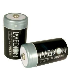 "Maha MH-RDI2 IMEDION 9500mAh ""Ready When You Are!"" Rechargeables"
