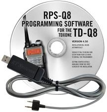 RPS-Q8 Programming Software and USB-K4Y cable for the TDXOne TD-