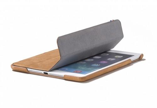 Decoded Case iPad Air Leather Slim Cover Brown