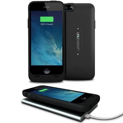 uNu Aero Series for Apple iPhone 5/5s Battery Case and charging