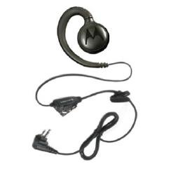 Motorola Swivel Earpiece with Inline Push-to-Talk (PTT) for XT42