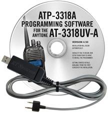 ATP-3318 Programming Software and USB-K4Y cable for the AnyTone
