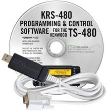 KRS-480 Software and USB-63 for the Kenwood TS-480