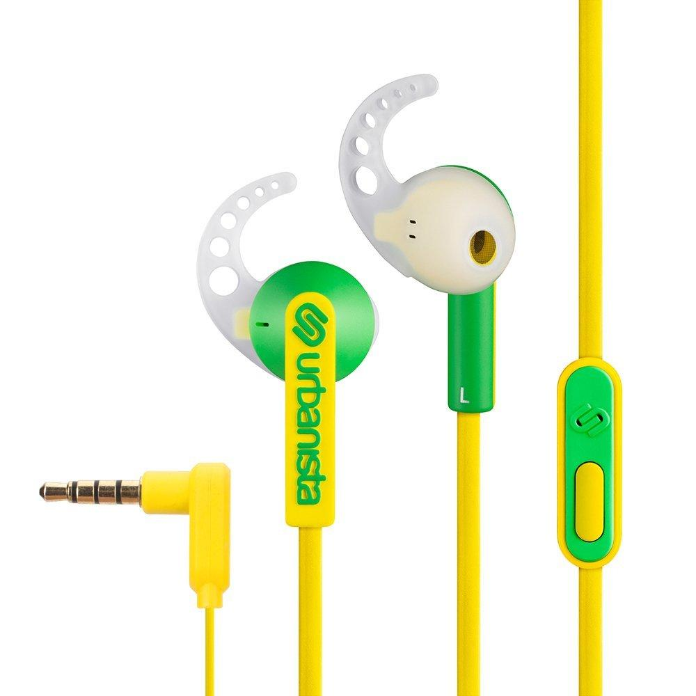 Urbanista Rio Sports Earphones with Gofit - Mellow Yellow