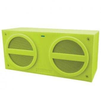 iHome BT Rechargeable Mini Speaker Rubberised - Green
