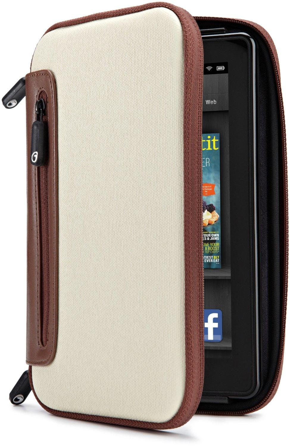 Marware Jurni for Kindle & Kindle Touch in Beige/Brown