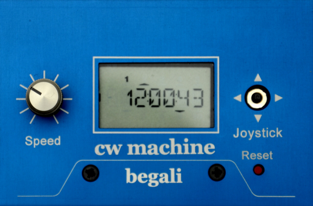Begali CW Machine 1