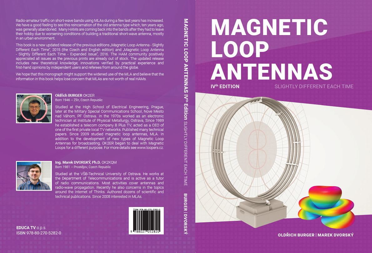 Magnetic Loop Antenna's Book 4th Edition 1