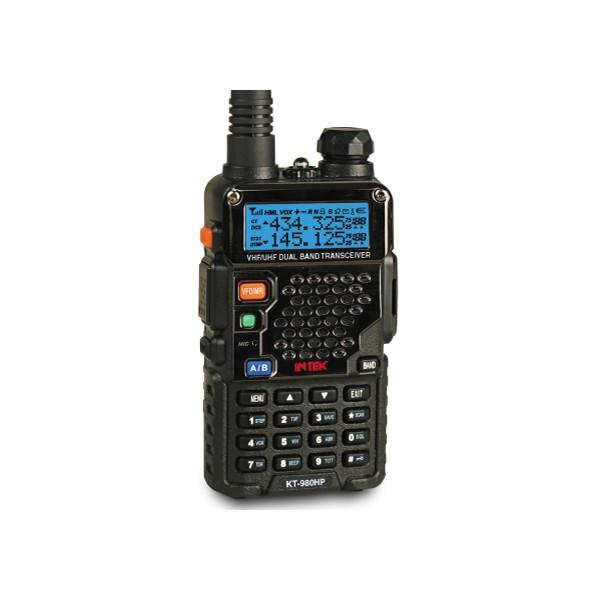 INTEK KT-980HP DUAL BAND HIGH POWER HANDHELD TRANSCEIVER