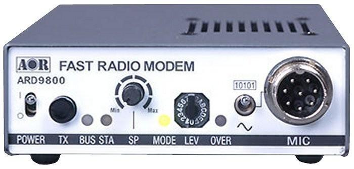 AOR ARD-9800 analogue voice transceiver to digital transmission