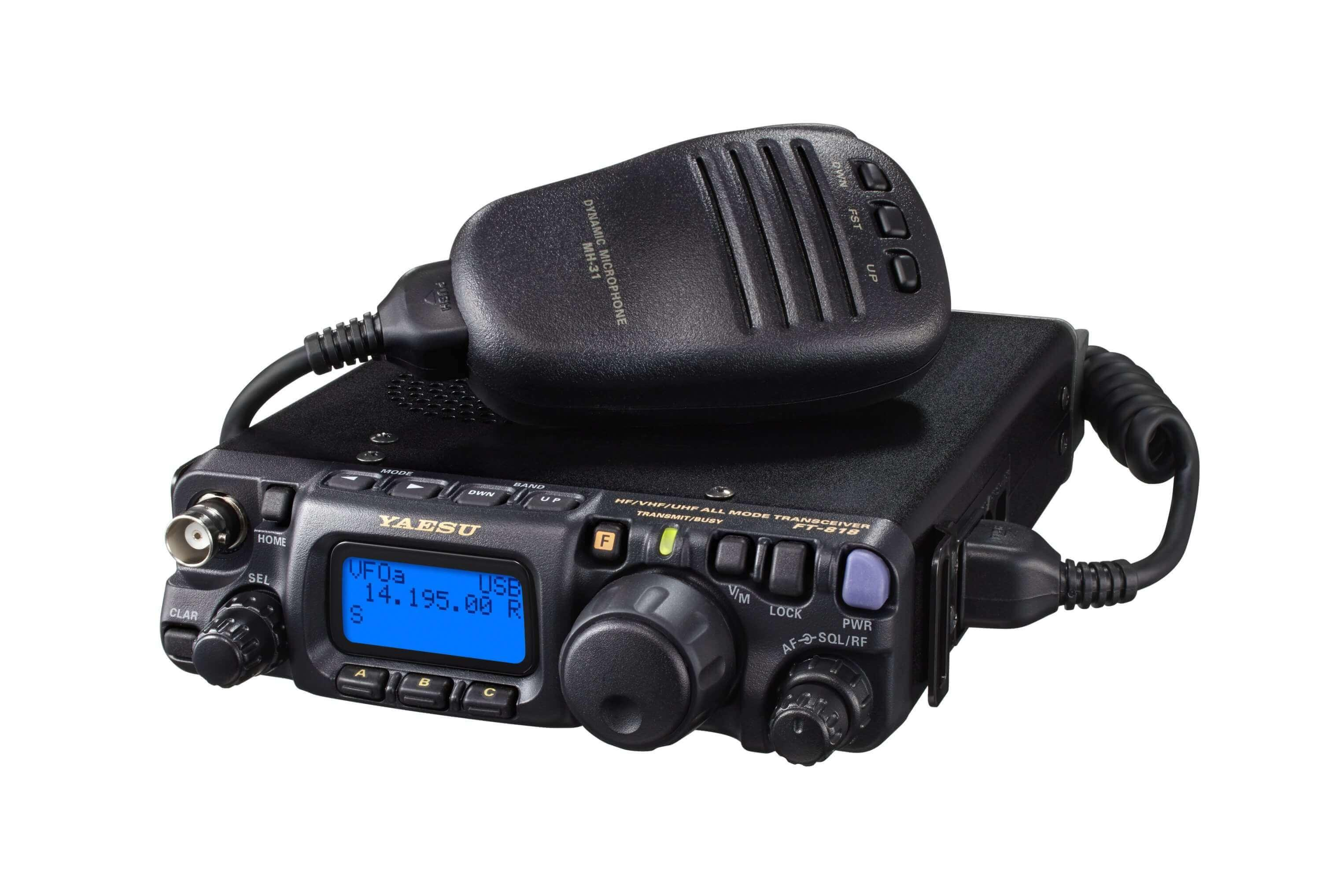 YAESU FT-818 6W HF/ VHF/ UHF All Mode Portable Transceiver