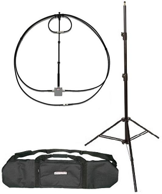 Alpha Antenna 10-80M Alpha Loop + Tripod & Bag