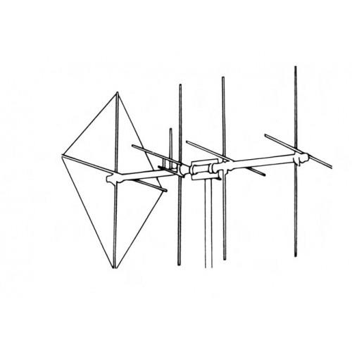 Maco Shooting Star 8-Element H/V Beam Antenna
