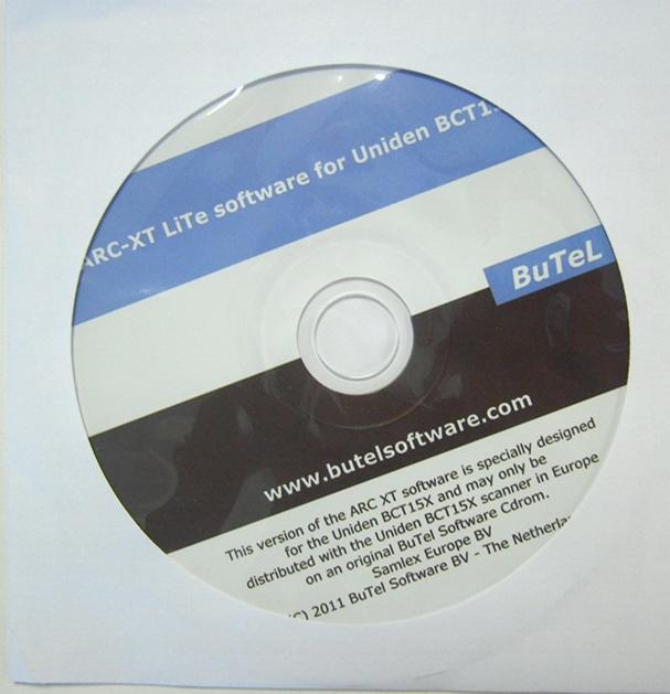 ARC-XT Lite Software for Uniden BCT15X