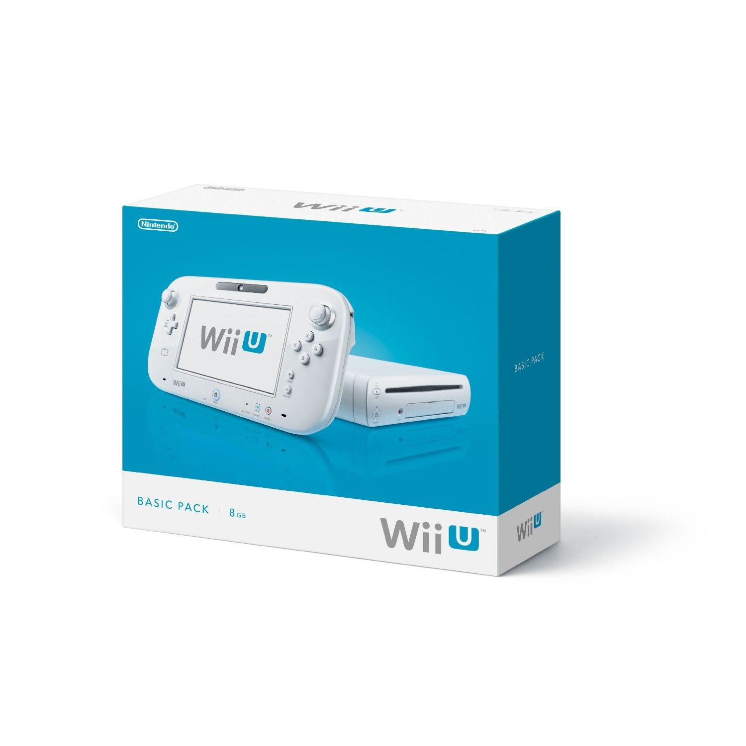 Wii U 8GB Basic Hardware White