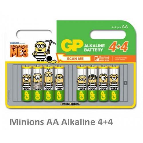 BL-8 GP15A Minions VB 0,16 Alkaline Battery