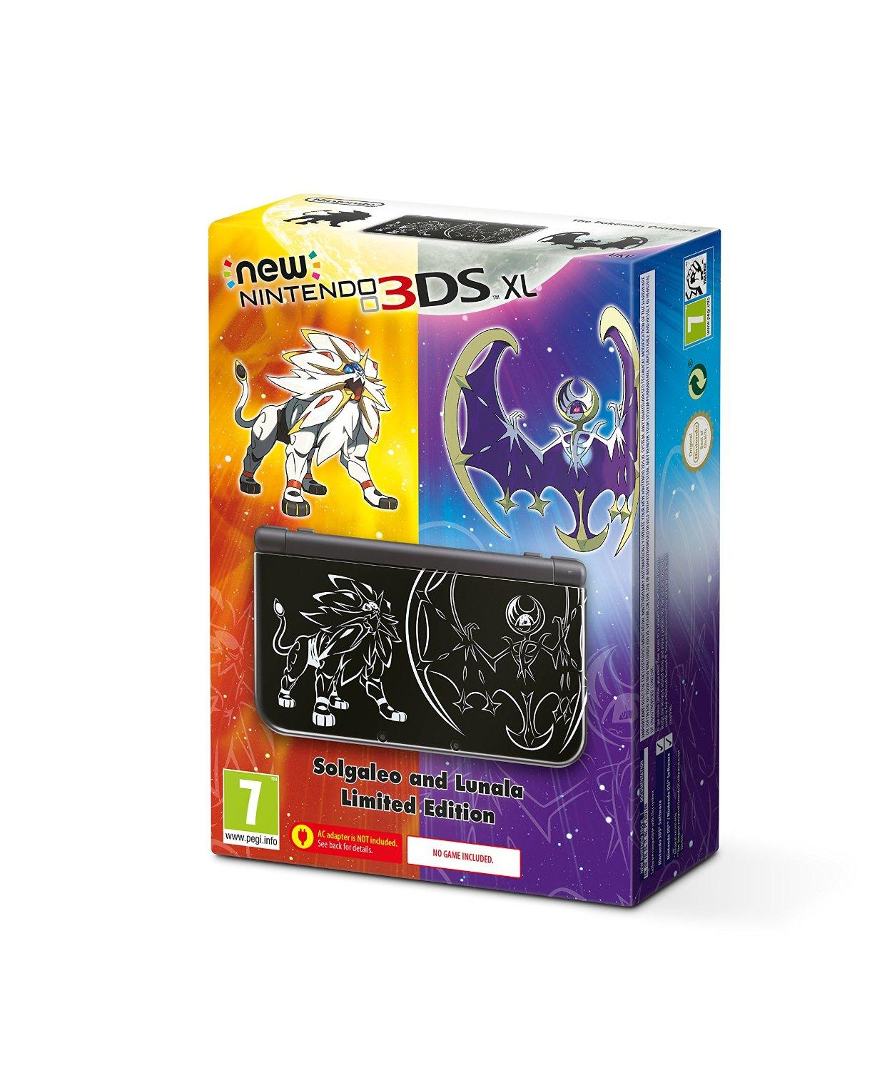 Nintendo 3DS XL - Pokemon Sun and Moon Edition