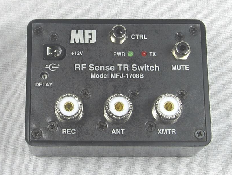 MFJ-1708B RF Sense Transmit Receive Switch 1